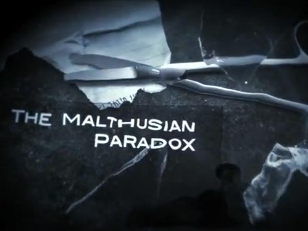 The Malthusian Paradox