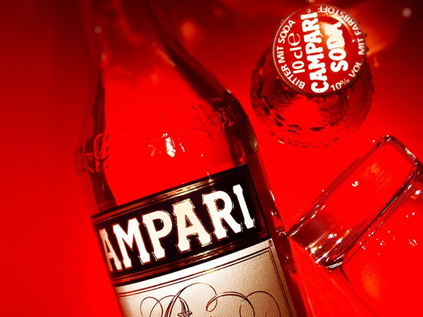 Campari Soda Solletica La Vita
